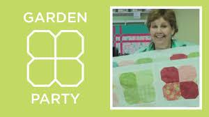 flower garden quilt pattern garden flower charm pack quilt tutorial youtube