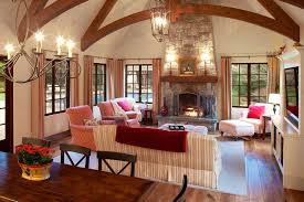 French Country Family Room LightandwiregalleryCom - Family room in french