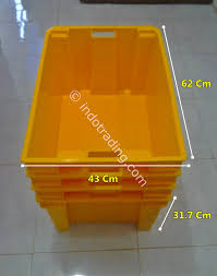 Jual Keranjang Container Plastik Bekas sell industrial plastic container mpc 18 d from indonesia by cv