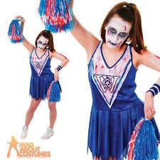Zombie Cheerleader Costume Zombie Cheerleader Women U0027s Fancy Dress Ebay