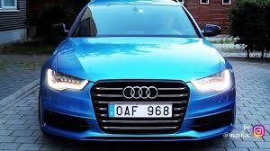 audi rs6 headlights audi rs6 4g c7 led headlights with dynamic indicators