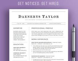 Modern Professional Resume Template Resume Template Word Free Cover Letter Cv Template