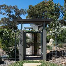 aust native plants japanese inspired garden and gate with australian native plants