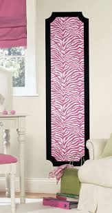 180 best kidz corner images on pinterest brother ontario and roommates pink and zebra print peel and stick deco panel