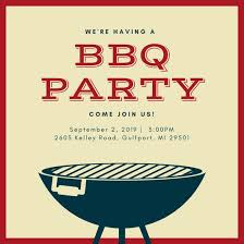 beige and brown grill bbq invitation templates by canva