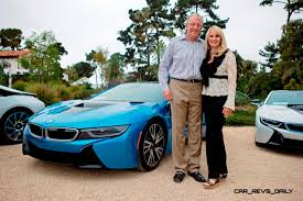 bmw ceo first 2014 bmw i8 owners take delivery in posh pebble beach experience