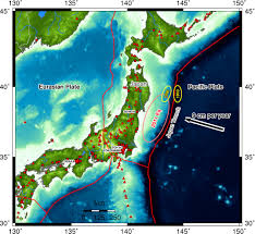 Earthquake Incident Map Japan U0027s 11 March Mega Quake Shifted The Ocean Floor Sideways By