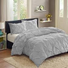 Pinched Duvet Cover Vcny Carmen 3 Piece Pintuck Duvet Cover Set Free Shipping Today
