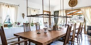 italian rustic get the look rustic italian dining room luxury retreats magazine