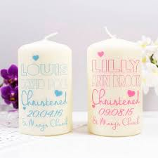 christening candles personalised christening candle for boys and by