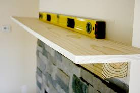 how to make a fireplace mantel shelf 8247