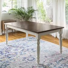 White Extending Dining Tables Farmhouse Dining Tables Birch Lane