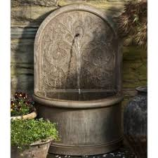 outdoor wall fountains wall water feature