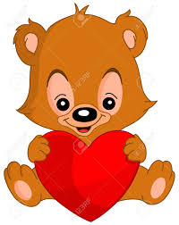 valentines teddy bears s teddy holding a big heart royalty free
