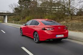 opel red new opel insignia shows independent rear suspension astra