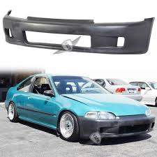 honda civic eg sedan jdm 92 95 honda civic eg hatchback wc style front bumper conversion