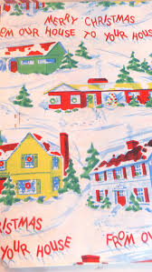 vintage christmas wrapping paper ash tree cottage vintage christmas wrapping paper and cards