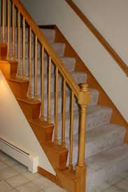 Stairs Without Banister Stair Interesting White Halfturn Staircase Design Ideas With