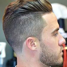 Undercut Hairstyle Men Back by Young Men Haircut Together With Barber Haircuts Low Fade With