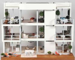 Dollhouse Modern Furniture by 1385 Best Dollhouses Interiors Images On Pinterest