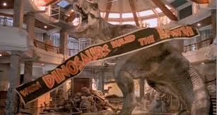 scriptchat why the t rex in jurassic park is not a deus ex machina