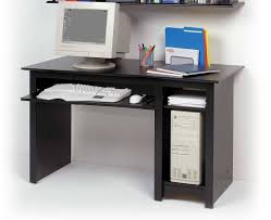 Desk With Computer Storage Furniture Vintage Small Computer Desk With File Storage And Black