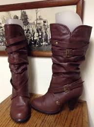 womens slouch boots target womens boots target mid calf comfy brown slouch buckles faux