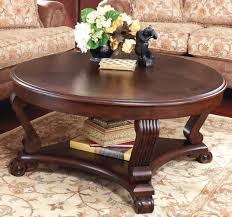 ashley furniture round coffee table buy ashley furniture t496 8 brookfield round cocktail table