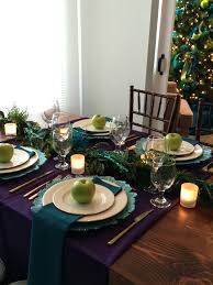 thanksgiving tablescapes ideas holiday tablescape ideas with lecroissant
