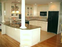 Kitchen Sitting Room Ideas Love Island With Columns To Support Wall Removed Between Kitchen