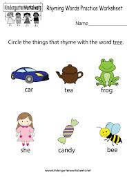 thanksgiving rhyme free kindergarten rhyming words worksheets understanding the