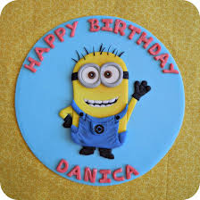 minions cake toppers minion cake topper by cake4thought on deviantart