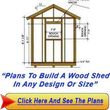 Plans To Build A Wooden Shed by How To Build A Wood Shed U2013 Simple Plans To Make A Shed