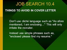 Enclosed Please Find My Resume Job Search 10 4 Comprehensive 10 Sessions Seminar On Successful
