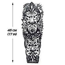 maori sleeve temporary tattoo maori polynesian sleeve artwear tattoo
