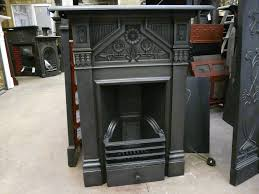 Victorian Cast Iron Bedroom Fireplace 168b 1624 Victorian U0027daisy U0027 Bedroom Fireplace Old Fireplaces