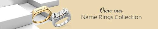 Personalized Name Ring Name Rings Personalized Rings Engraved Rings Mynamenecklace