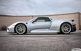 Porsche 918 Orange - porsche 918 spyder carbon additions gmg racing