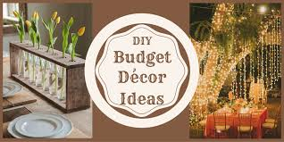 diy budget decoration ideas for a low key house function
