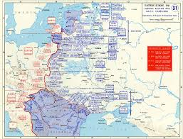 Map Of Eastern United States by Map Of Balkan And Baltic Campaigns August December 1944