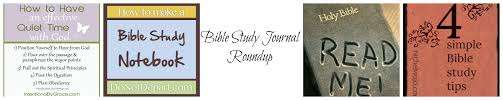 bible study journal roundup the barnprincess