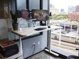the history of standing desks