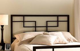 bedroom decorative contemporary metal headboards a modern metal