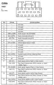 2002 ford radio wiring wiring diagrams