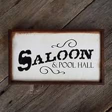Wild West Home Decor Western Signs And Decor Bar Sign Wild West Handmade Wood Signs