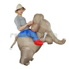 Blow Halloween Costume Inflatable Elephant Costume Promotion Shop Promotional