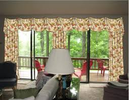 valance over door valances over sliding glass doors curtains