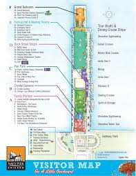 navy pier map 16 best find chicago maps images on chicago road
