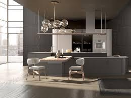 artika kitchen with island by pedini
