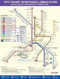 Las Vegas Transit Map by Kuala Lumpur Airport Express Klook